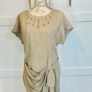 VINTAGE SCARLETT  DRESS